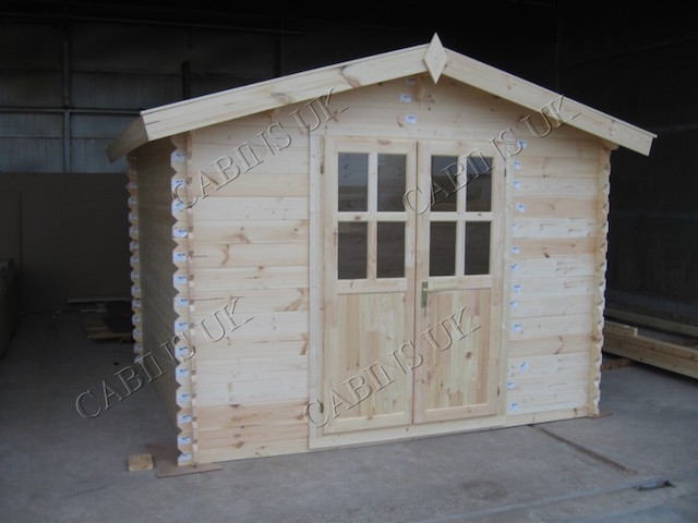 Amal 3x3 Log Cabin