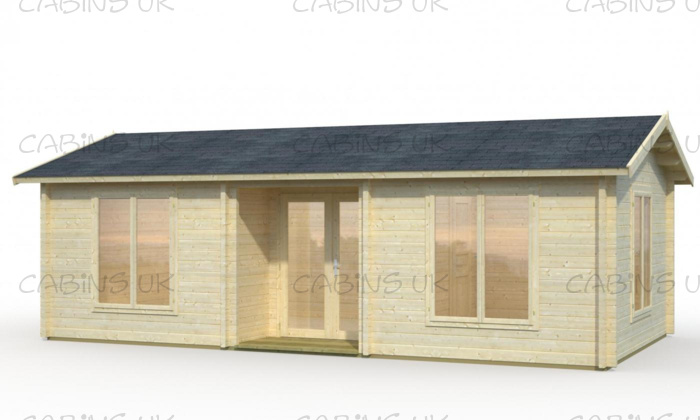 Notts (44 mm) Log Cabin