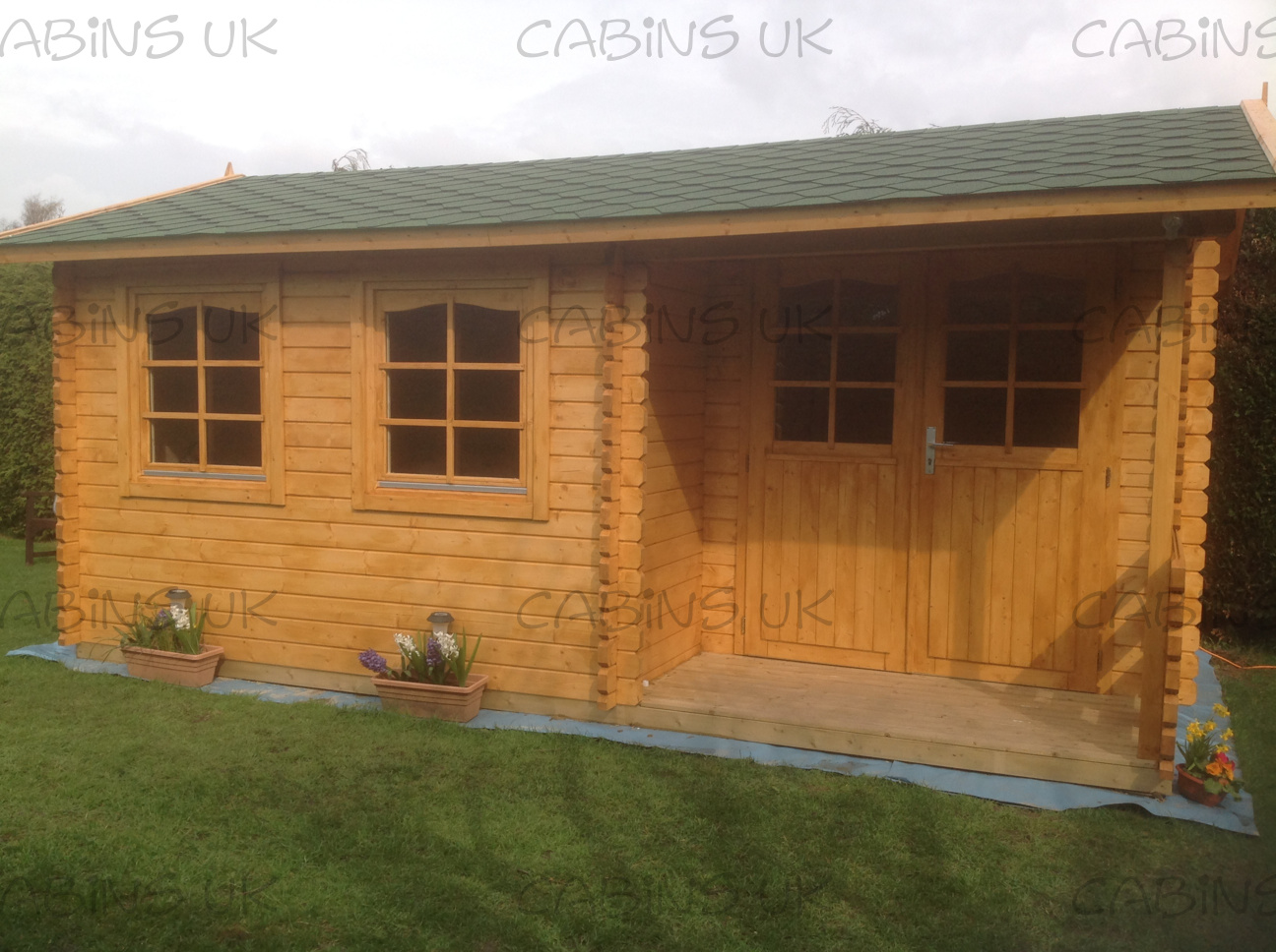 Rome (34 or 44 mm) Log Cabin