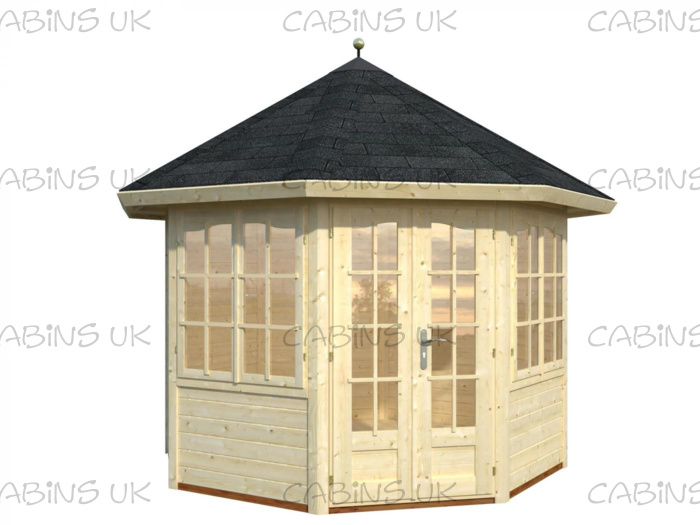 Beatrix (34 mm) Log Cabin