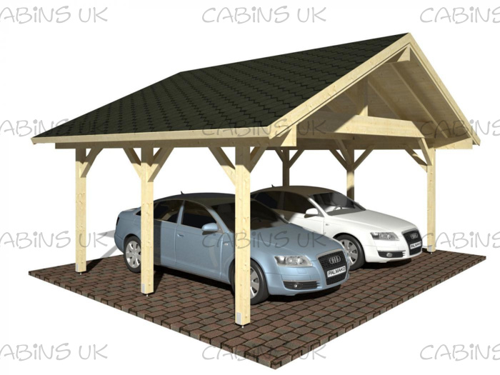 BBQ Hut (44 mm) Log Cabin