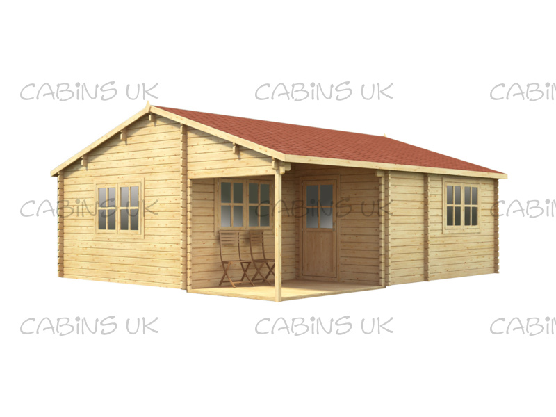 Cottage (44 mm) Log Cabin