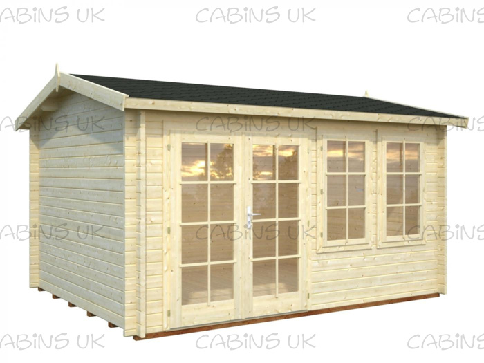 Garage 1 (44 mm) Log Cabin