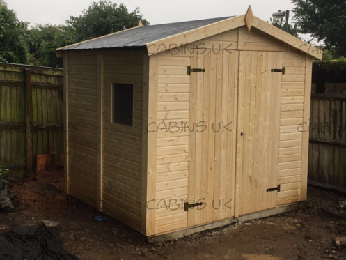Logshed 2 (16 mm) Log Cabin