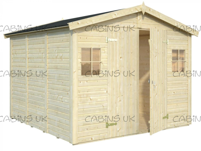 Workshop 1 (16 mm) Log Cabin