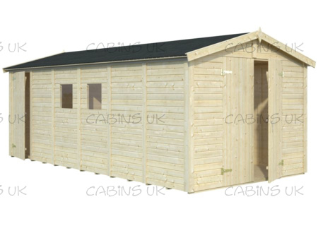 Workshop 2 (16 mm) Log Cabin